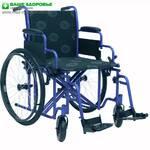Инвалидная коляска усиленная Millenium-HD 55, 60 (Италия)