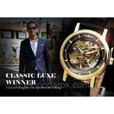 Чоловічий механічний годинник скелетон Winner Skeleton. e53658fe66352