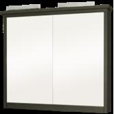 Шкафчик зеркальный РУНО-100