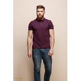 Мужская футболка 15136 бордо