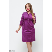 Женское платье 16702 фуксия