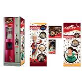 Брендированная наклейка на кофейный автомат Saeco Quarzo NM/NE 700, красный