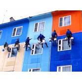 Фасадные работы: покраска фасада здания в Киеве и Киевской области