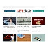 Размещение банера с рекламой на LIVE Plusе