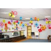Оформлення повітряними кульками 1 Вересня