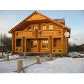 Осуществляем строительство деревянных домов из клееного бруса под ключ