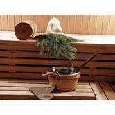 We carry out the construction of steam baths (banya) from lumber