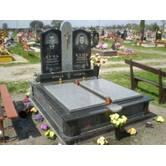 Подвійні надгробні пам'ятники (Ковель). Виготовлення за індивідуальними замовленнями