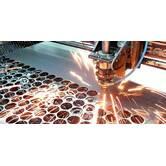 Laser cutting and metal punching