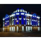 Архітектурне освітлення фасадів будинків