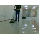 Шліфування наливної підлоги