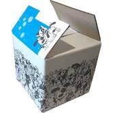 Флексодрук на упаковці, трафаретний друк на картонних коробках