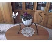 """Кована підставка для квітів """"Кіт"""""""