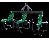 Культиватор для міні-трактора КМО-2,1 міжрядної обробки з підгортальниками