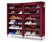 Тканевый шкаф-органайзер для хранения обуви