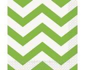Бумажные салфетки LIME GREEN - 16шт/уп
