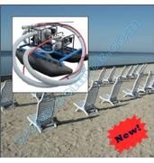 Намив пляжів ручним міні земснарядом Piranha (США)