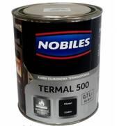 Термостійка емаль Nobiles Termal 500 (срібло)