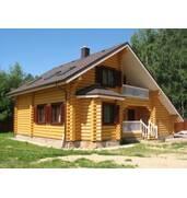 Будівництво дерев'яних будинків під ключ, замовити на hata-zrub.ub.ua