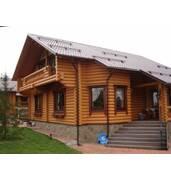 Будинки з оциліндрованих колод, замовити будівництво