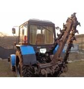 Послуги цепового траншеєкопача ( бара на базі трактора МТЗ 82)