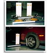 Стенд лазерный для измерения параметров заднего моста автомобиля «ПАНОРАМА-КВАДРО»