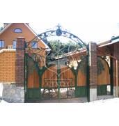 Замовити ворота ковані - оригінальні проекти