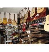 Продаж музичного обладнання та інструментів