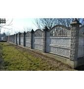 Купити декоративний бетонний паркан