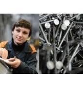 Робота на машинах з виробництва цвяхів