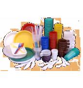 Одноразовий пластиковий посуд купити оптом