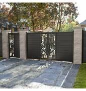 Ковані і вирізані плазмою ворота і хвіртки