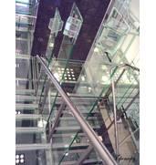 Огорожі сходів з нержавіючої сталі недорого під замовлення