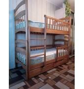 Двох'ярусне ліжко Каріна-Люкс. Підсилена. Акція