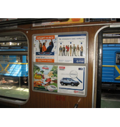 Размещение рекламы в метро по доступным ценам