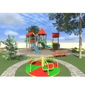 Купить детские площадки недорого с установлением