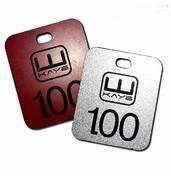 Замовляйте гардеробні номерки з логотипом - ціни доступні