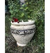 Горщики з шамотної глини купити з доставкою по Україні