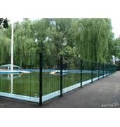 Сварной забор из сетки для дачи Рубеж 3D с полимерным покрытием купить