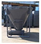 Бункер для подачи бетона от ООО Будмаш – удобное и качественное строительное оборудованиена выгодных условиях