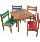 Дитячий столик зі стільчиком дерев'яний купити недорого