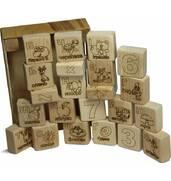 Купити дерев'яні кубики Київ від виробника