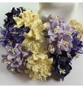Купить бумажные цветы для скрапбукинга недорого