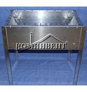 Придбати розбірний мангал з нержавійкиза доступною ціною