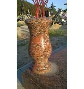Купити  гранітні вази недорого