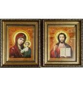 Янтарные иконы - идеальный подарок молодоженам