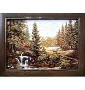 Пейзаж из янтаря от производителя: для уюта вашего дома