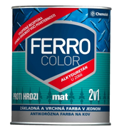 """Фарба антикорозійна """"Chemolak FERRO COLOR"""" матова 0,75 л"""