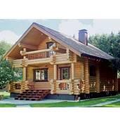 Деревянные дома из оцилиндрованного бревна заказать недорого