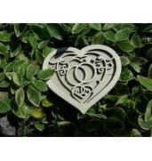 Коробочка для колец из дерева на свадьбу в наличии
